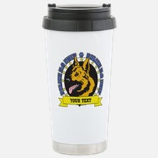 Personalized K9 German Shepherd Travel Mug