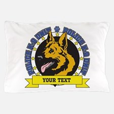 Personalized K9 German Shepherd Pillow Case