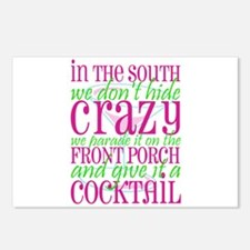 Unique Southern crazy Postcards (Package of 8)