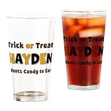 Hayden Trick or Treat Drinking Glass