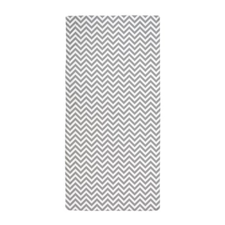 grey and white chevron beach towel by zenchic. Black Bedroom Furniture Sets. Home Design Ideas