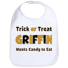 Griffin Trick or Treat Bib