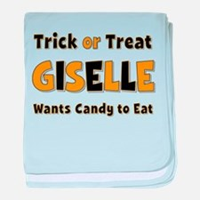 Giselle Trick or Treat baby blanket