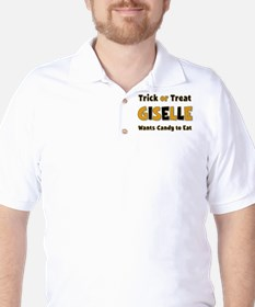 Giselle Trick or Treat Golf Shirt