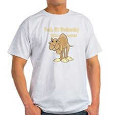 Wednesday Camel T-Shirt
