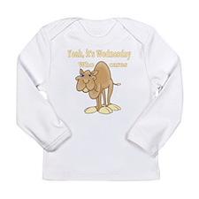 Wednesday Camel Long Sleeve Infant T-Shirt