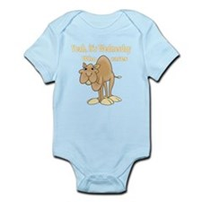 Wednesday Camel Infant Bodysuit