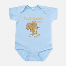 Wednesday Camel Infant Bodysuit