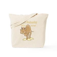 Wednesday Camel Tote Bag