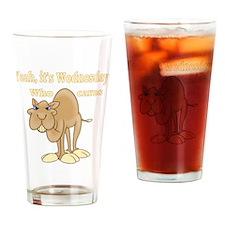 Wednesday Camel Drinking Glass