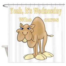 Wednesday Camel Shower Curtain