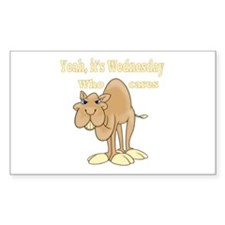 Wednesday Camel Decal
