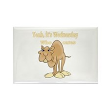 Wednesday Camel Rectangle Magnet (100 pack)