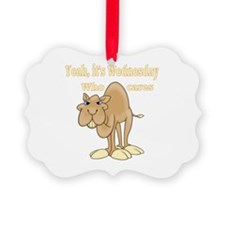 Wednesday Camel Ornament