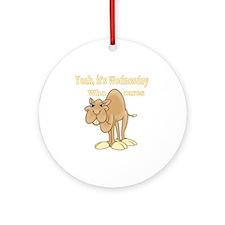 Wednesday Camel Ornament (Round)
