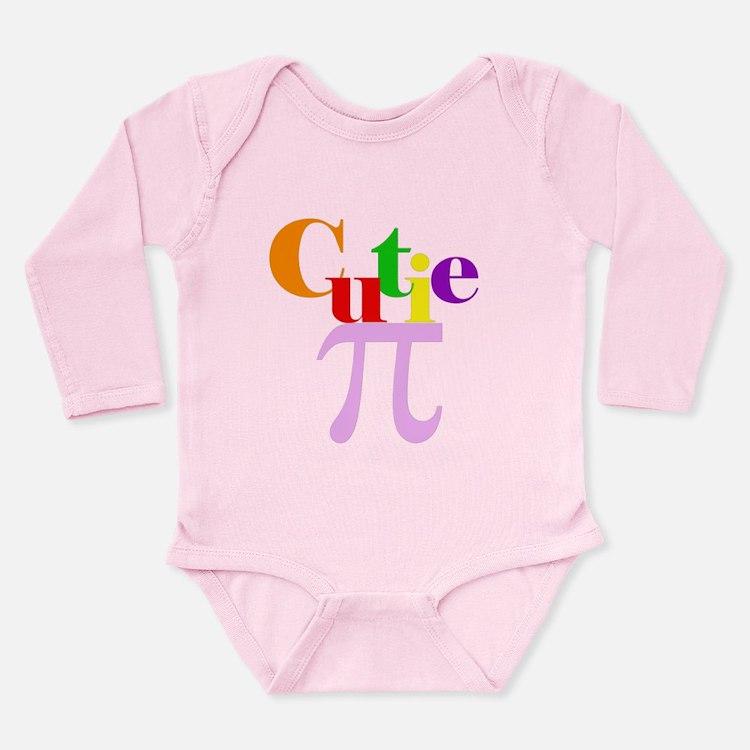 Cutie Pie Girl Baby Body Suit