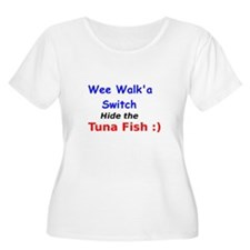 Wee Walk'a Switch Plus Size T-Shirt