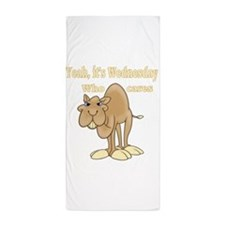 Hump Day Camel Beach Towel
