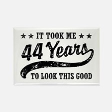 Funny 44th Birthday Rectangle Magnet