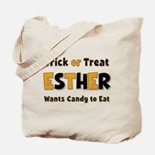 Esther Trick or Treat Tote Bag
