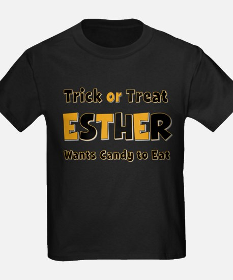 Esther Trick or Treat T-Shirt
