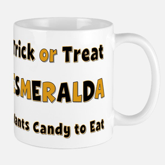 Esmeralda Trick or Treat Mug
