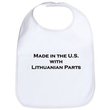 Made in the U.S. with Lithuanian Parts Bib