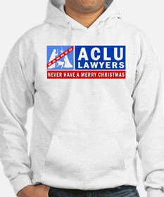ACLU Lawyers Never Have a Merry Christmas Hoodie