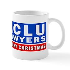 ACLU Lawyers Never Have a Merry Christmas Mug
