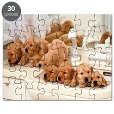 Puppies in a sink Puzzle