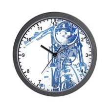 Cafe Racer Motorcycle Wall Clock