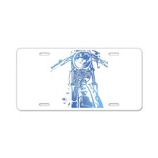 Cafe Racer Motorcycle Aluminum License Plate