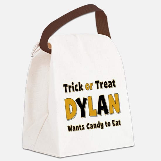 Dylan Trick or Treat Canvas Lunch Bag