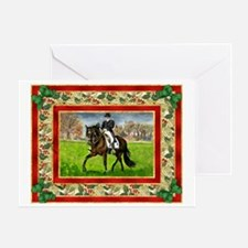 Alter Real Horse Christmas Greeting Card