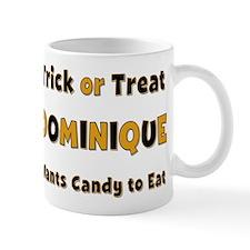 Dominique Trick or Treat Mug