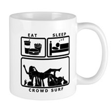 Eat Sleep Crowdsurf Mug
