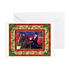 American Saddlebred Horse Christmas Greeting Card