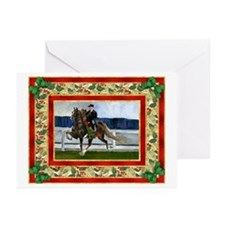 American Saddlebred Horse Christmas Greeting Cards