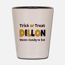 Dillon Trick or Treat Shot Glass