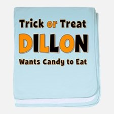 Dillon Trick or Treat baby blanket