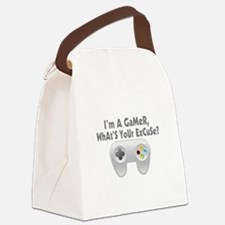 I'm A Gamer What's Your Excuse Canvas Lunch Bag