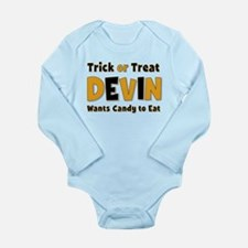 Devin Trick or Treat Body Suit