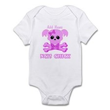 Personalized NCIS Chick Infant Bodysuit