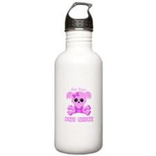 Personalized NCIS Chick Water Bottle