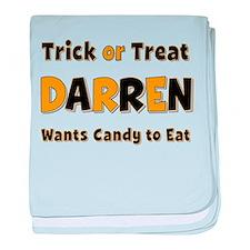 Darren Trick or Treat baby blanket