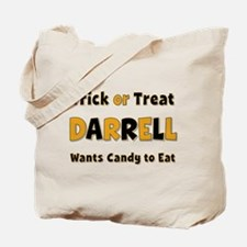 Darrell Trick or Treat Tote Bag