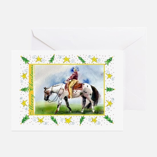 Appaloosa Horse Christmas Greeting Cards (Pk of 10