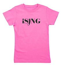 iSING Microphone Performer Girl's Tee