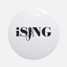iSING Microphone Performer Ornament (Round)
