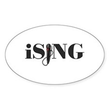 iSING Microphone Performer Decal